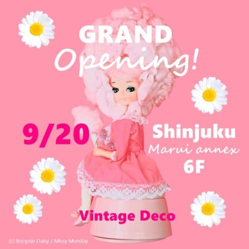 ヴィンテージDeco 新宿マルイアネックス店